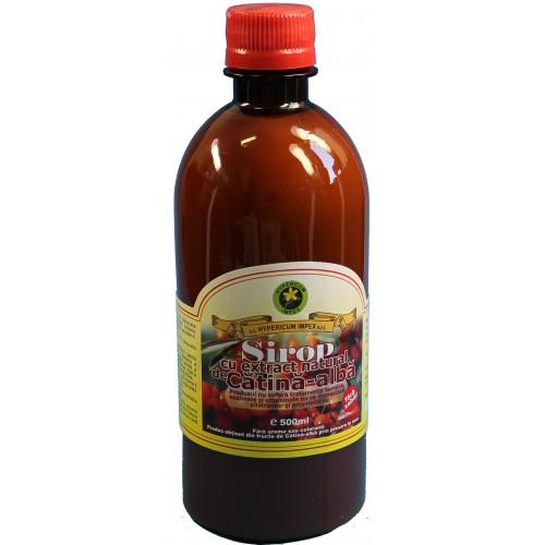 Sirop cu Extract Natural de Catina-Alba 500ml HYPERICUM