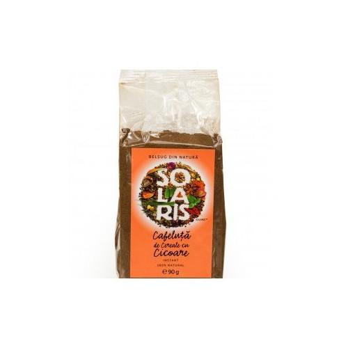 Cafeluta de Cereale si Cicoare Instant (Punga) 90g SOLARIS