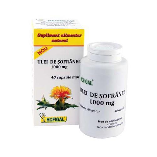 Ulei de Sofranel 1000mg 40cps HOFIGAL
