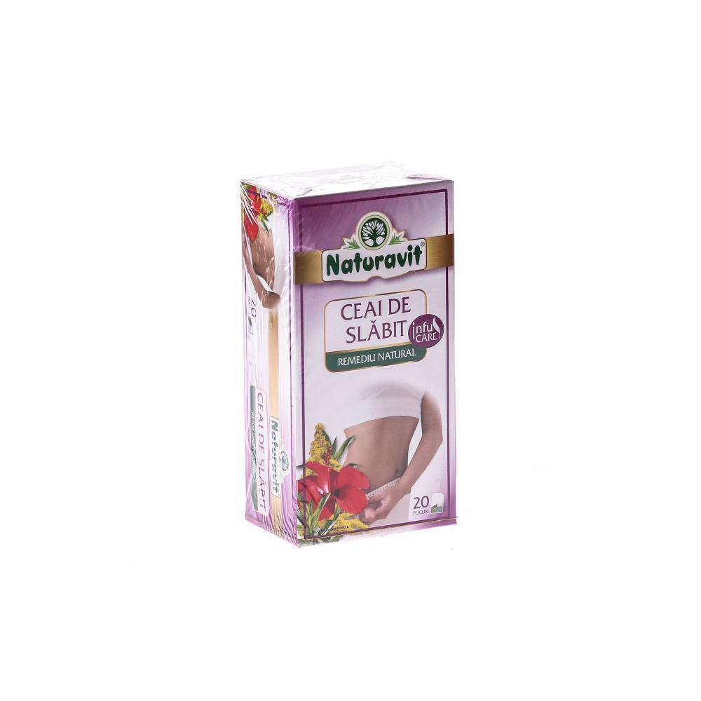 ceai de slabit naturavit