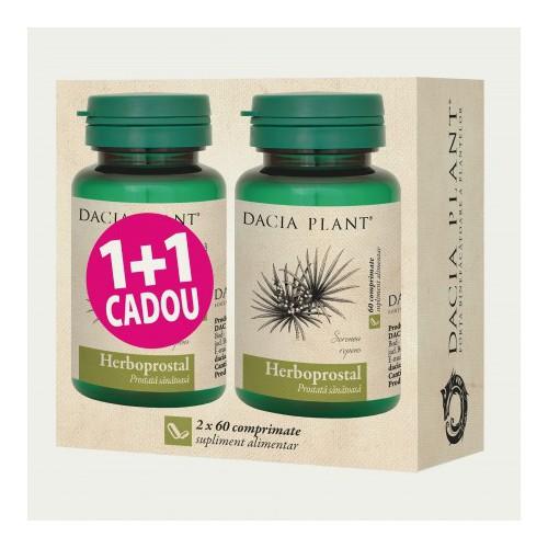 Herboprostal 60 cpr 1+1 Cadou DACIA PLANT