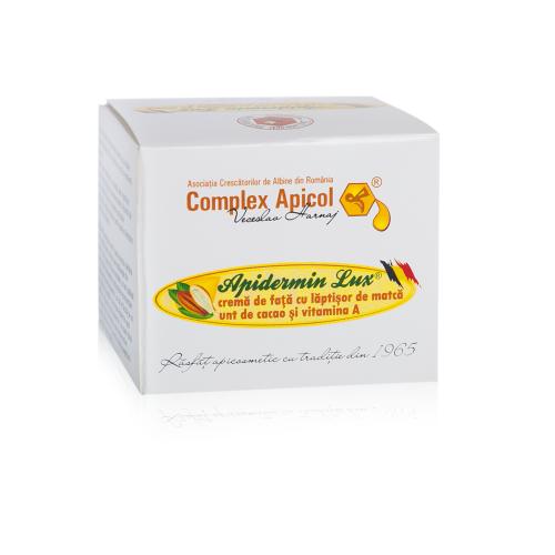 Apidermin Lux Crema Pentru Fata 50ml COMPLEX APICOL VECESLAV HARNAJ