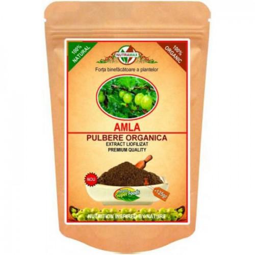 Amla - Pulbere Organica 125 gr NUTRAMAX