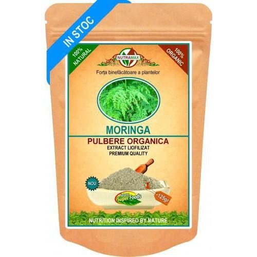 Moringa Pulbere Organica 125gr NUTRAMAX