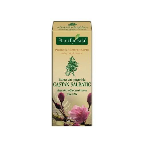 Extract din muguri de castan salbatic (Aesculus hippocastanum) 50 ml Plant Extrakt