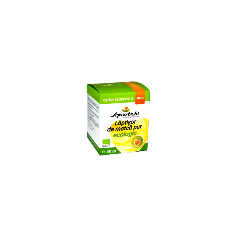 Laptisor de matca pur Bio 50 g API VITALIS