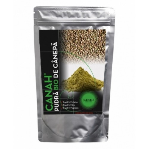 Pudra Proteica din Seminte de Canepa Naturala 500g CANAH