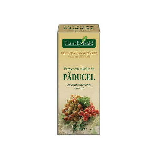 Extract din mladite de paducel (Crataegus oxyacantha) 50 ml Plant Extrakt