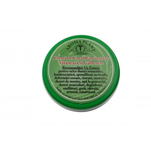 Crema de untul pamantului, tataneasa si galbenele 100g Aroma Plant
