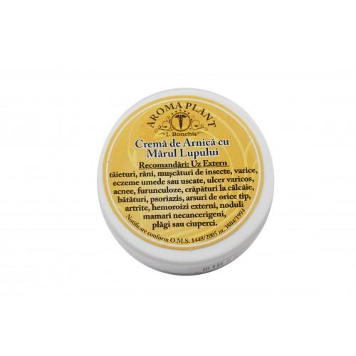 Crema de Arnica cu Marul Lupului 100g Aroma Plant