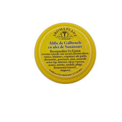 Alifie de Galbenele cu ulei de Sunatoare 100g Aroma Plant