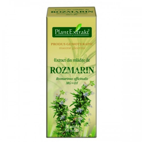 Extract din mladite de rozmarin (Rosmarinus officinalis) 50 ml Plant Extrakt