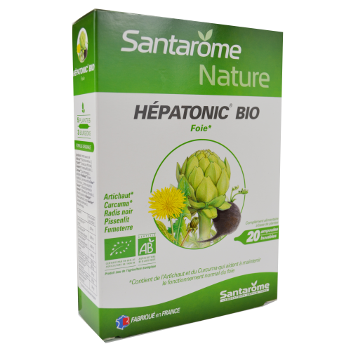 Hepatonic BIO 20 fiole SANTAROME NATURE
