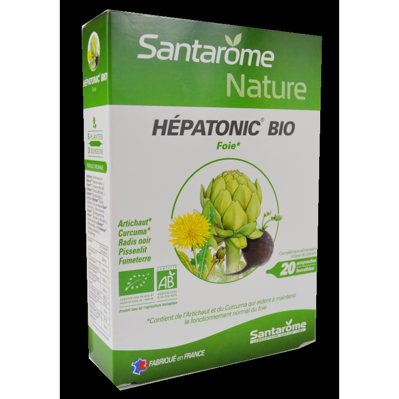 Hepatonic BIO 20 fiole SANTAROME