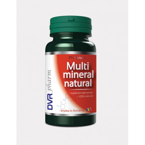Multimineral Natural 60 cps DVR PHARM