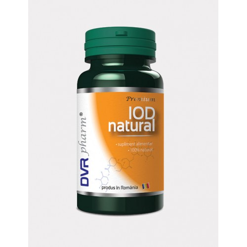 Iod Natural 60 cps DVR PHARM