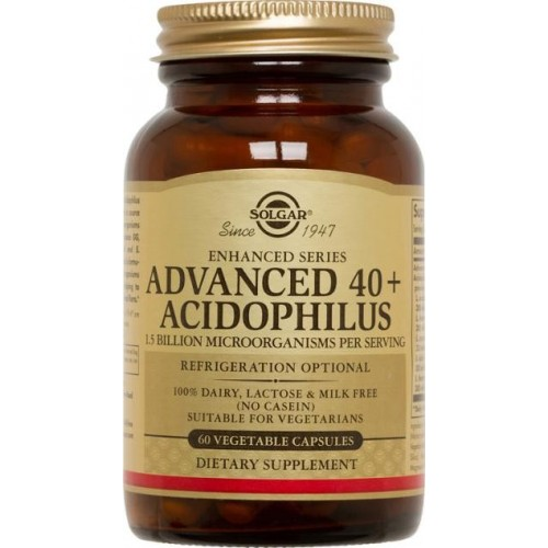 Advanced 40+ Acidophilus 60 cps SOLGAR
