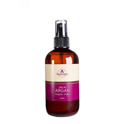 Ulei de Argan Organic Virgin 250 ml Trio Verde