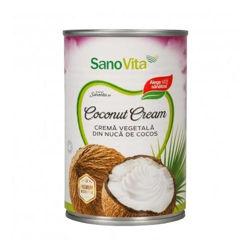 Crema Vegetala din Nuca de Cocos 400ML Sano Vita