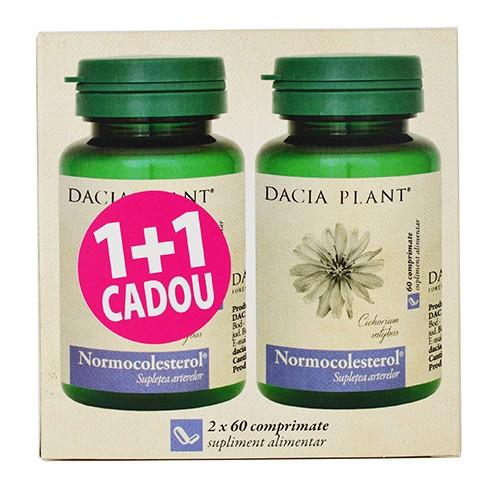 Normocolesterol 60 cpr 1+1 CADOU DACIA PLANT