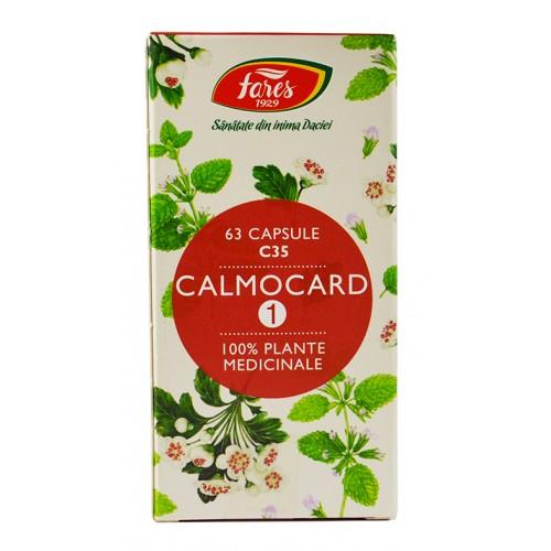 Calmocard 1 C35 63 cps FARES