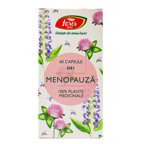 Menopauza G81 60 cps FARES