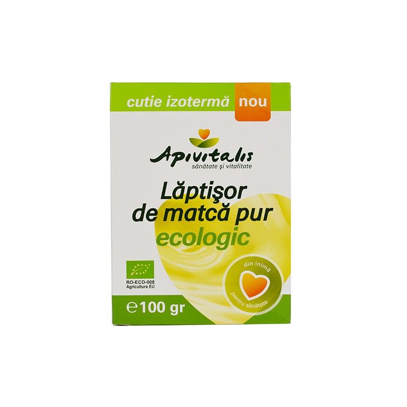 Laptisor de matca pur Bio 100 g API VITALIS