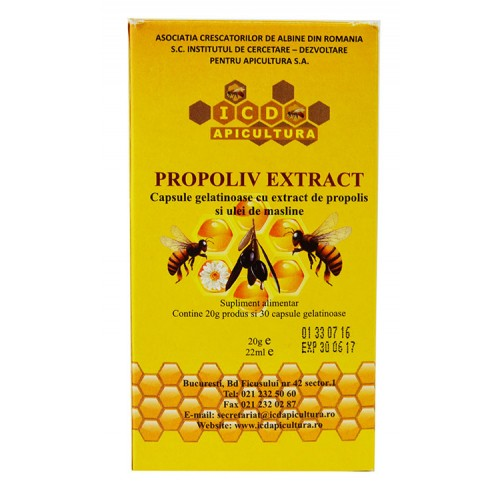 Propoliv Extract 30cps pentru Adulti ICDA