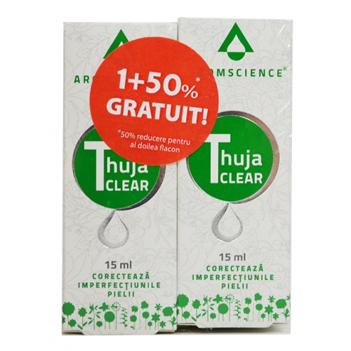 Thuja Clear 15 ml 1+ 50 % Gratuit AROMSCIENCE