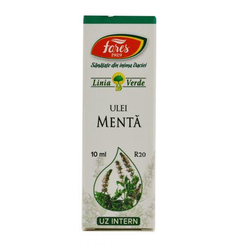 Ulei Esential de Menta R20 10 ml FARES