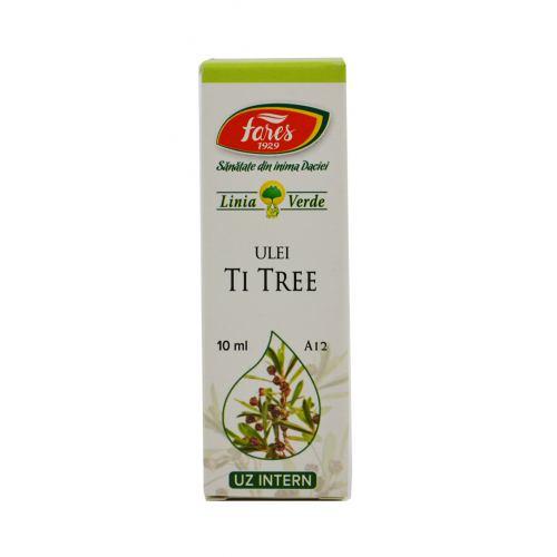 Ulei Esential de Tea-Tree (A12) 10ml FARES