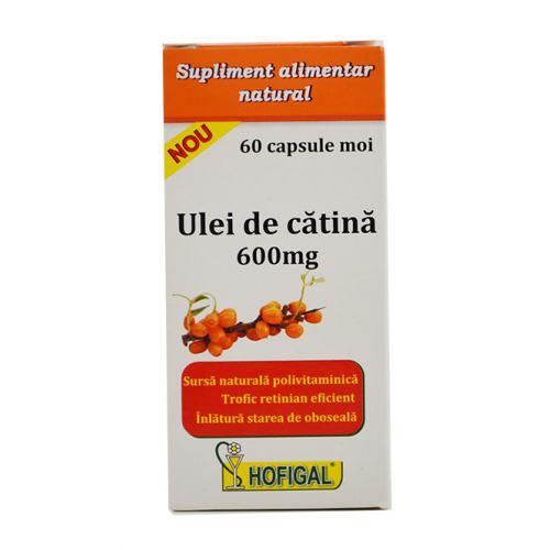 Ulei de catina 600 mg 60 cps HOFIGAL