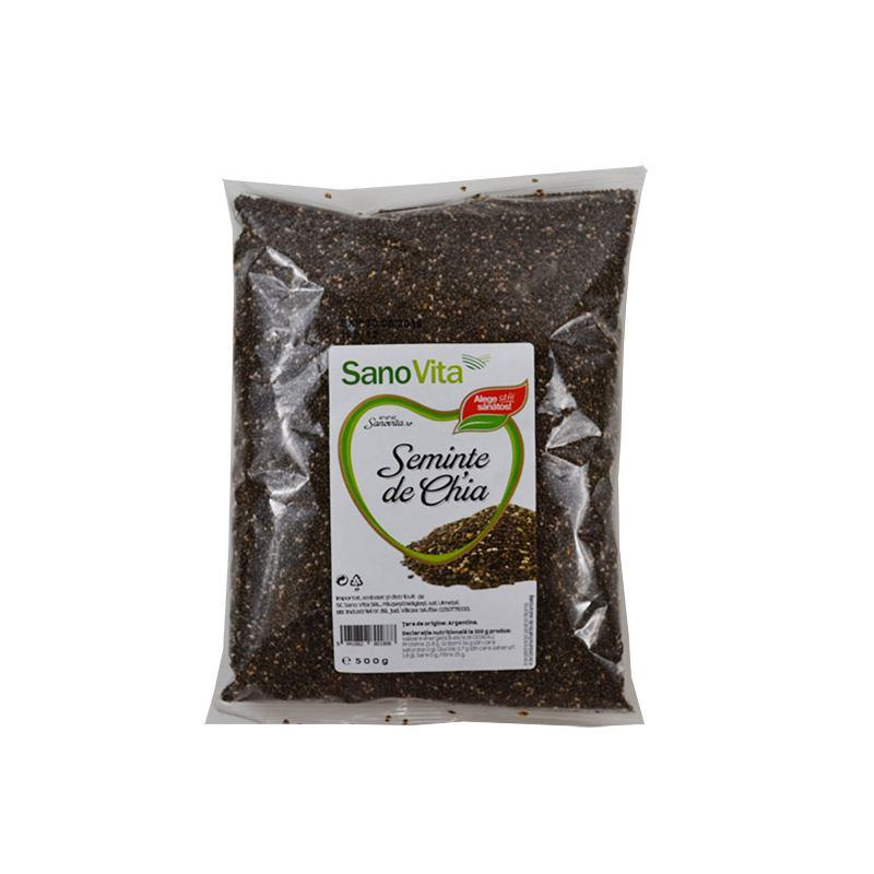 Seminte de chia 500 g SanoVita