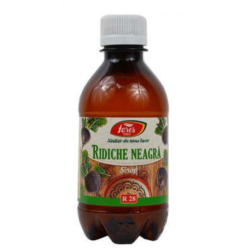 Ridiche neagra R28 250 ml sirop FARES