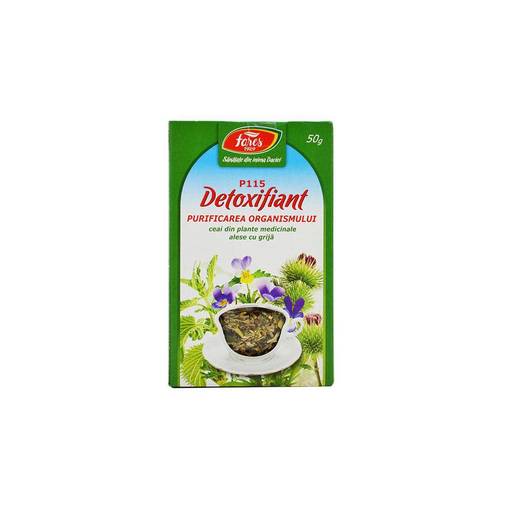 ceai detoxifiere fares