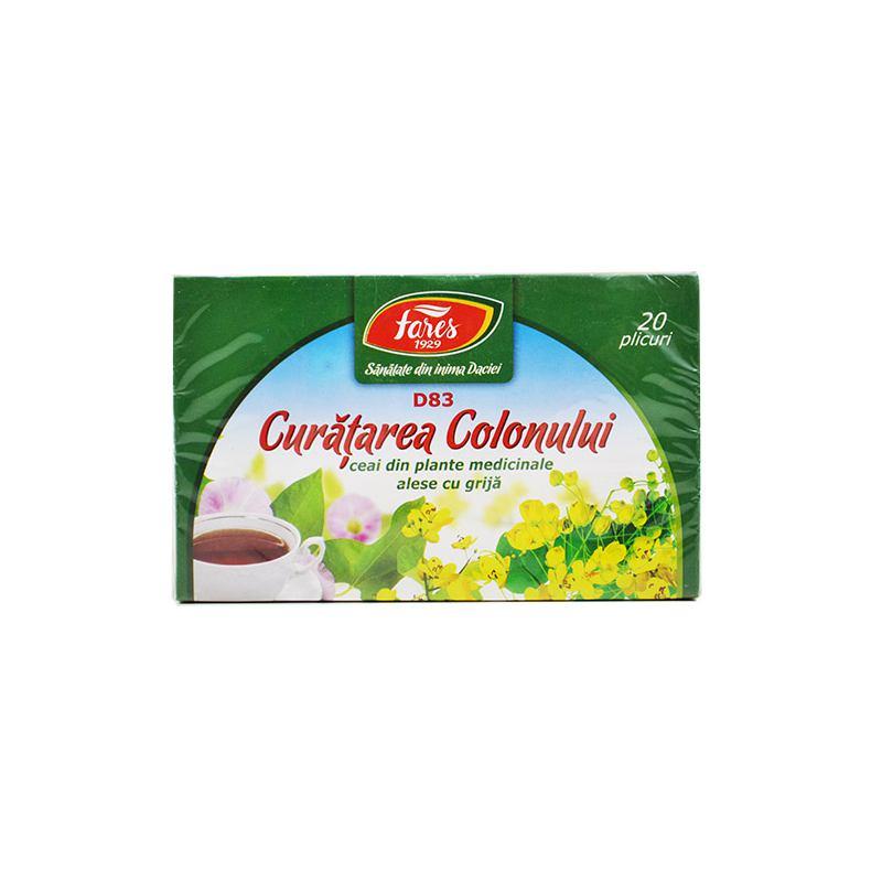 curatarea colonului ceai fares