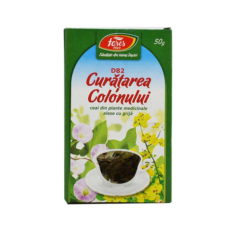 ceai fares detoxifierea colonului cărora li s- au îndepărtat condiloamele în gură