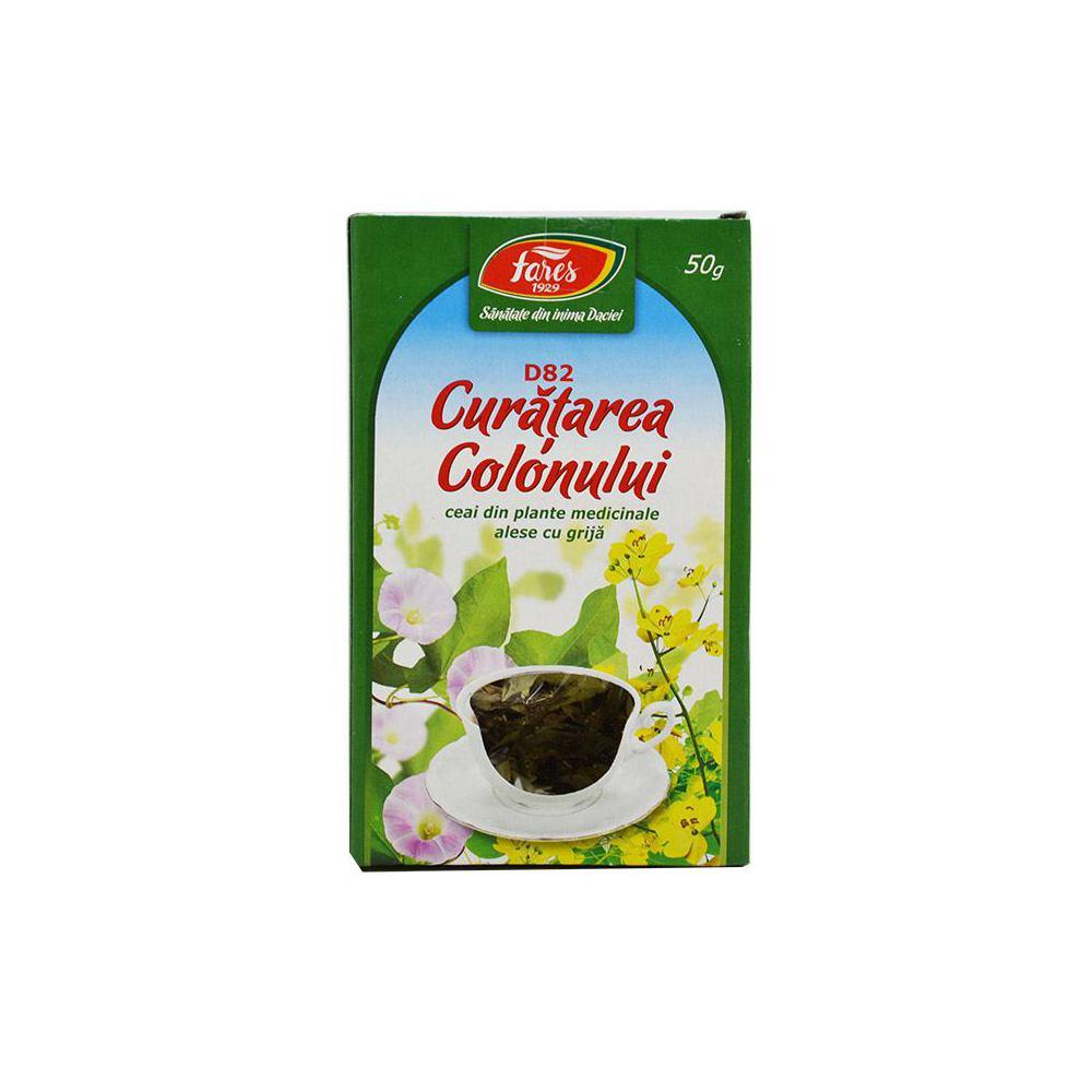 Ceai curatarea colonului pareri, Ceai curatare colon x 20 doze Fares - Catena