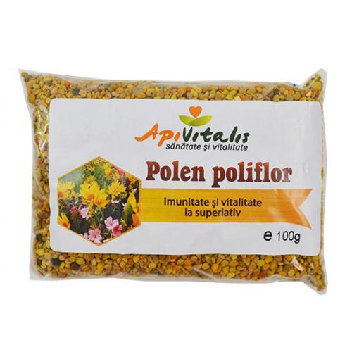 Polen poliflor uscat 100gr API VITALIS