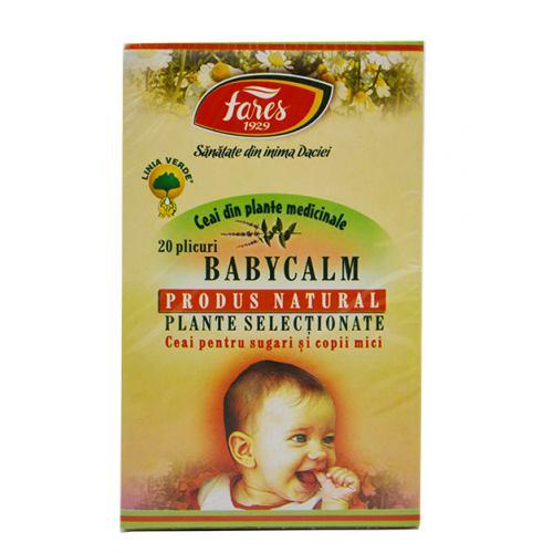 Ceai Babycalm 20 dz FARES