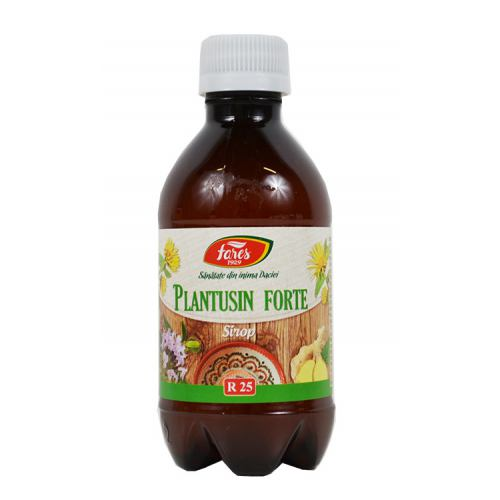 Plantusin forte R25 250 ml sirop FARES