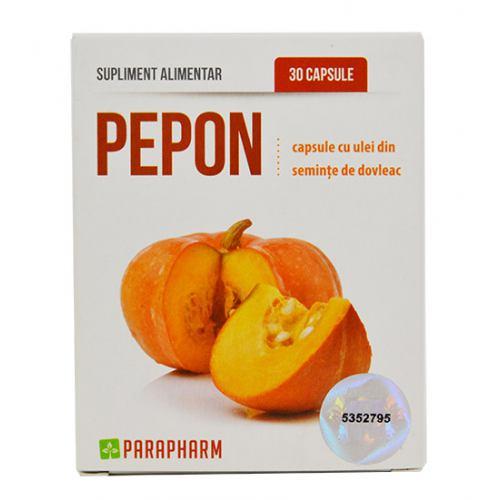 Pepon Cu Ulei De Dovleac 30cps Parapharm