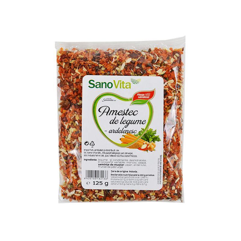 Amestec de legume ardelenesc 125 g SanoVita
