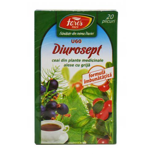 Ceai Diurosept (U60) 20dz FARES