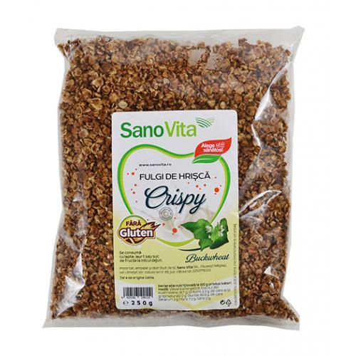 Fulgi de hrisca crispy 250 g SanoVita
