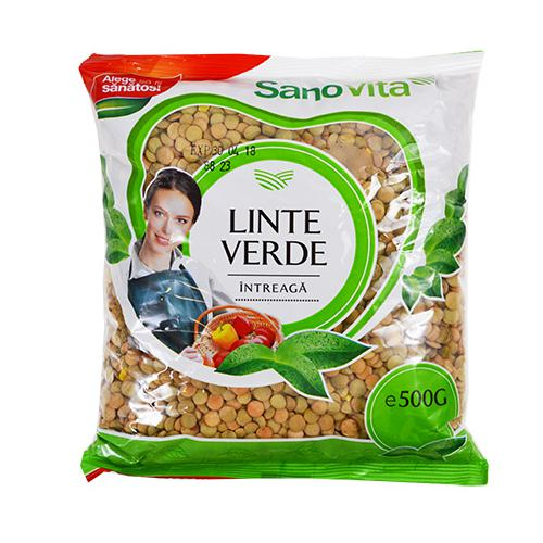 Linte verde 500 g SanoVita
