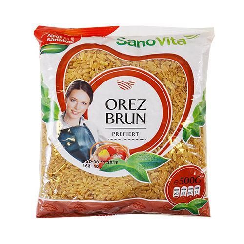 Orez brun prefiert 500 g SanoVita