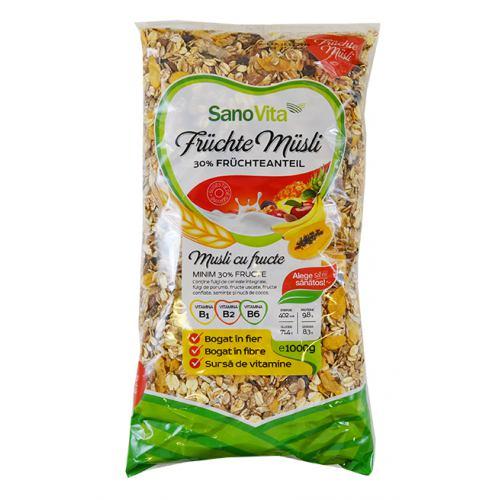 Musli cu fructe 1 kg SanoVita