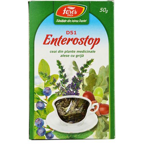 Ceai Enterostop (D51) 50g FARES