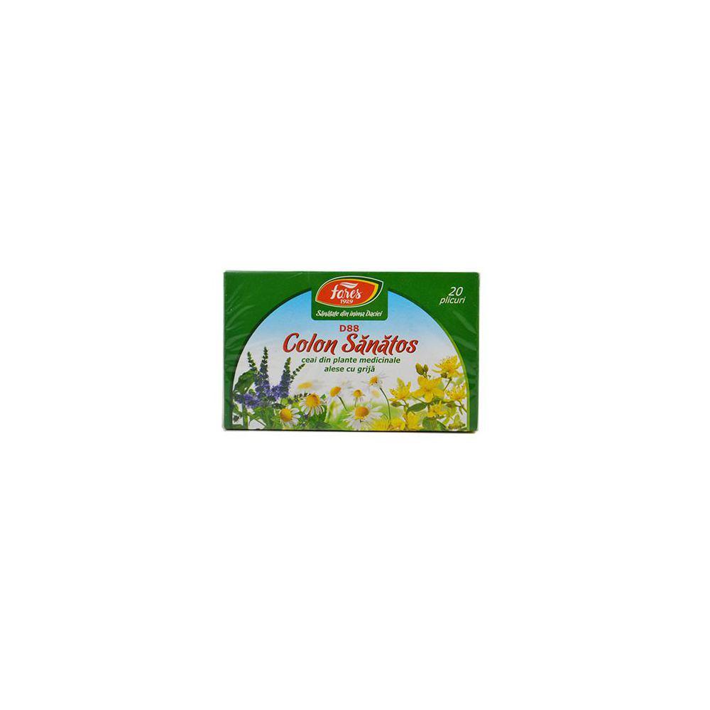 ceai fares colon sanatos)